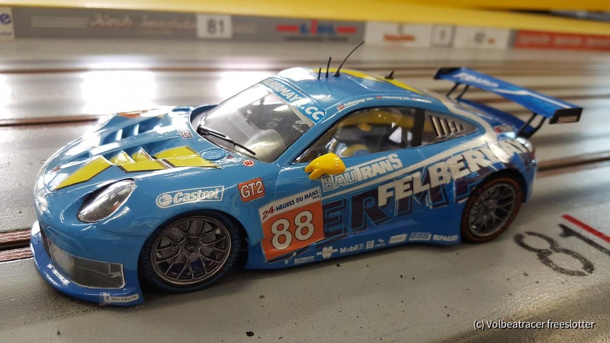 Porsche 991 mit 997 Decalsatz vom Doc