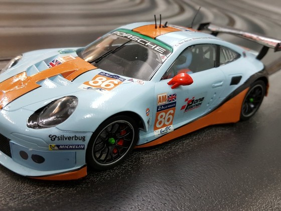 Porsche 991 RSR Gulf #86 - Decals Fola