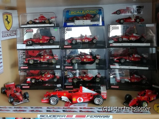Ferrari F1 Sammlung