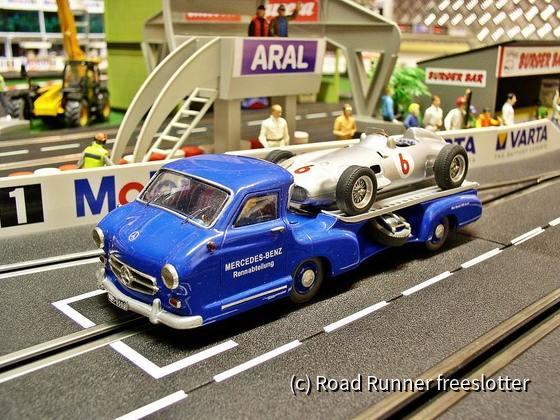 Peter Pre, Mercedes-Benz Renntransporter 1954-55