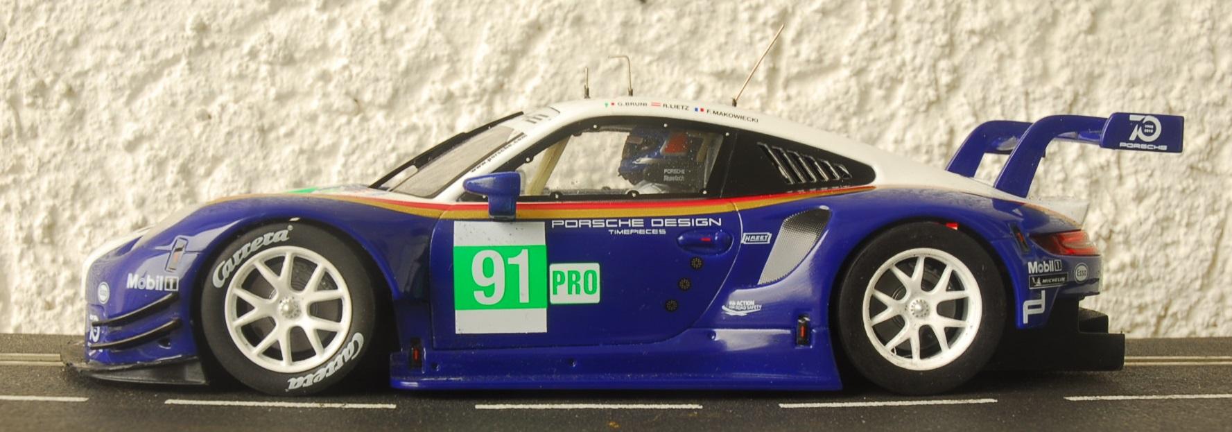 Verschlankter/modifizierter Carrera 124 Porsche 911 RSR