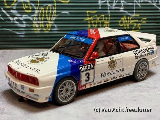 AutoArt BMW E30 M3 DTM - 001