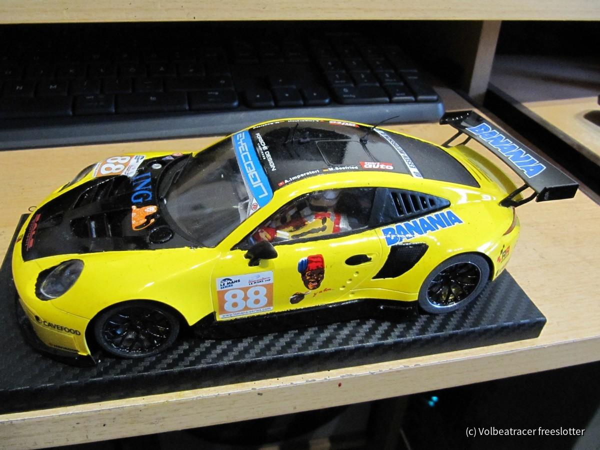 Scaleauto 991 auf Racegold schmal