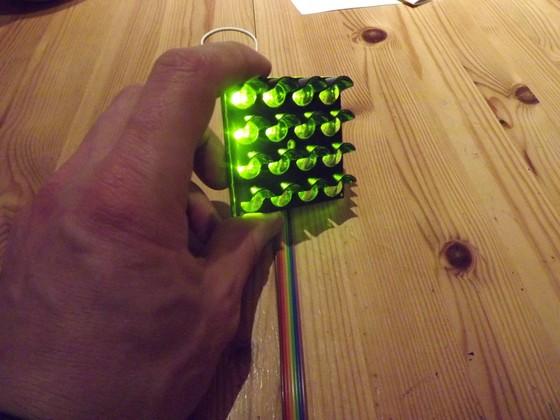 Startampel mit LED-Matrix