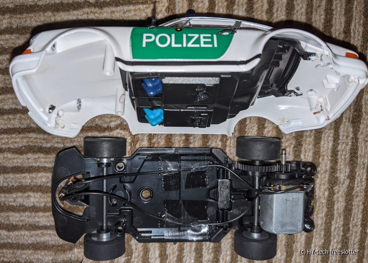 911 Polizei (Fly) innen
