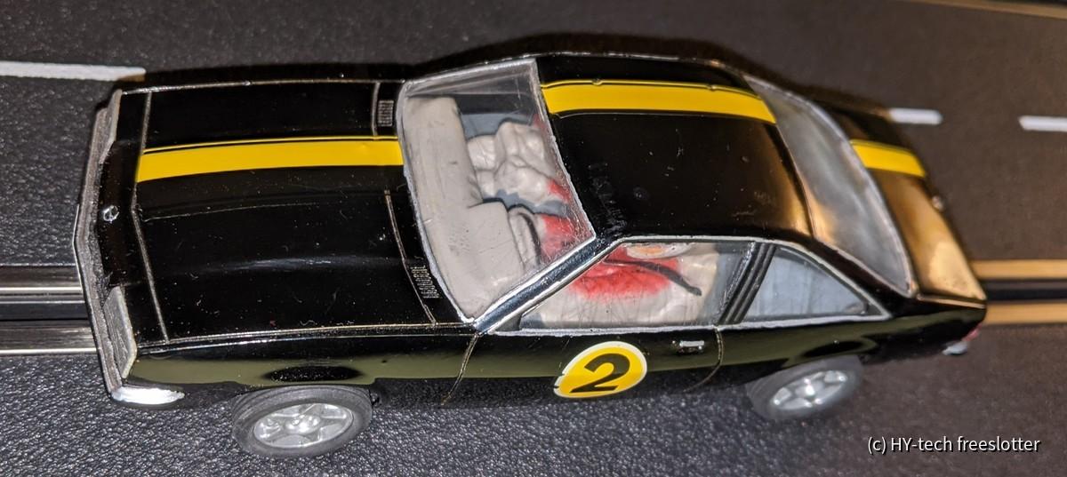 Uni Opel Manta auf SCX M3 Chassis