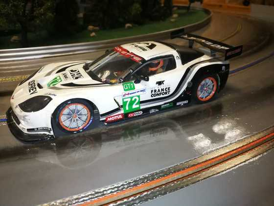 GFK Corvette 1:24 GT Trier