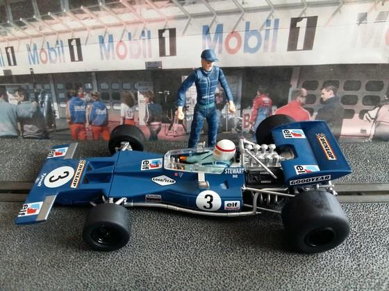 Scalextric Tyrrell 001 #3 Stewart