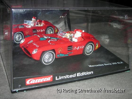 Carrera Mercedes 300 SLR Weihnachtsmann #2412