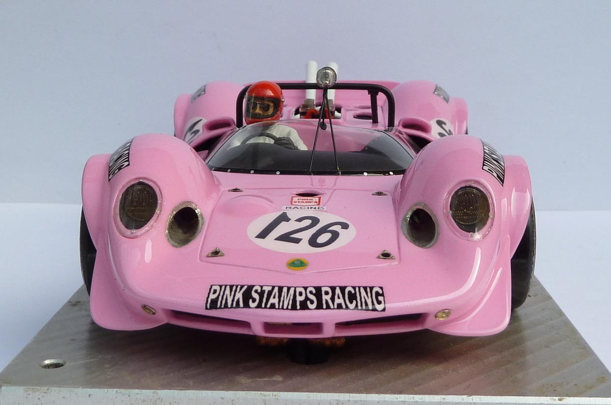 Lotus 30 Pink Stamps....... made by LMK