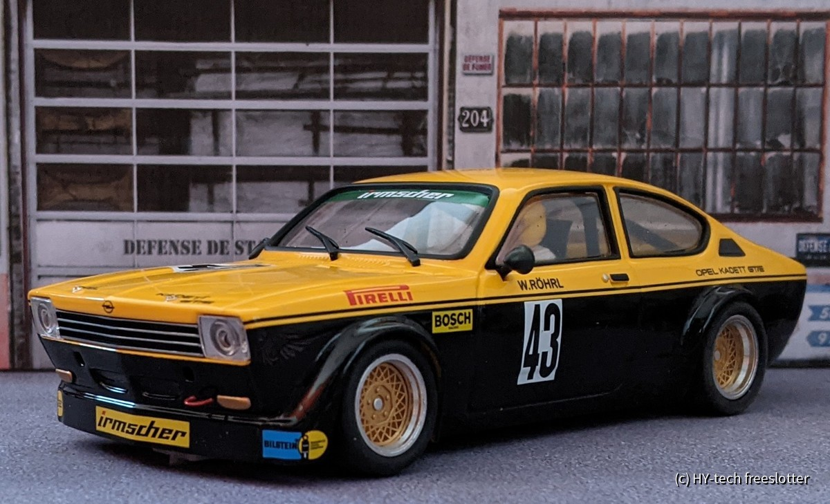 BRM Opel Kadett C-Coupé Röhrl #43