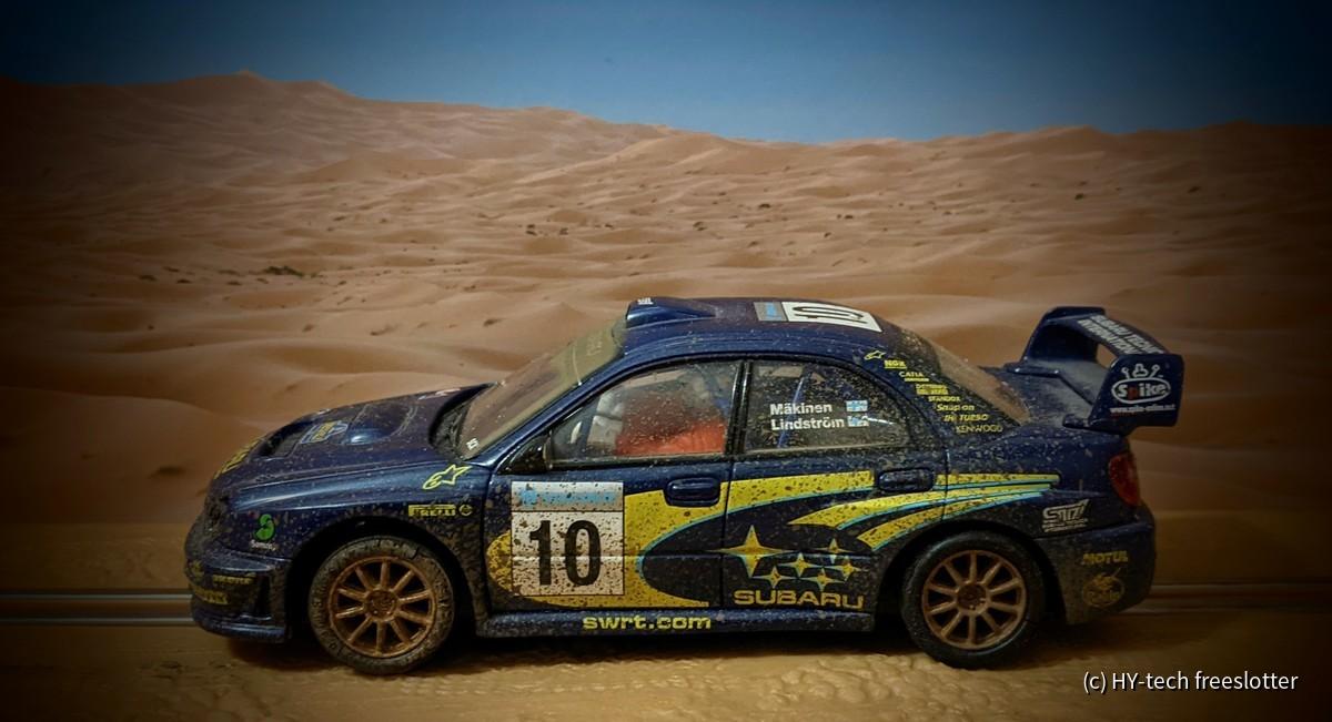 SCX Subaru Impreza WRC 'Mäkinen' dirt