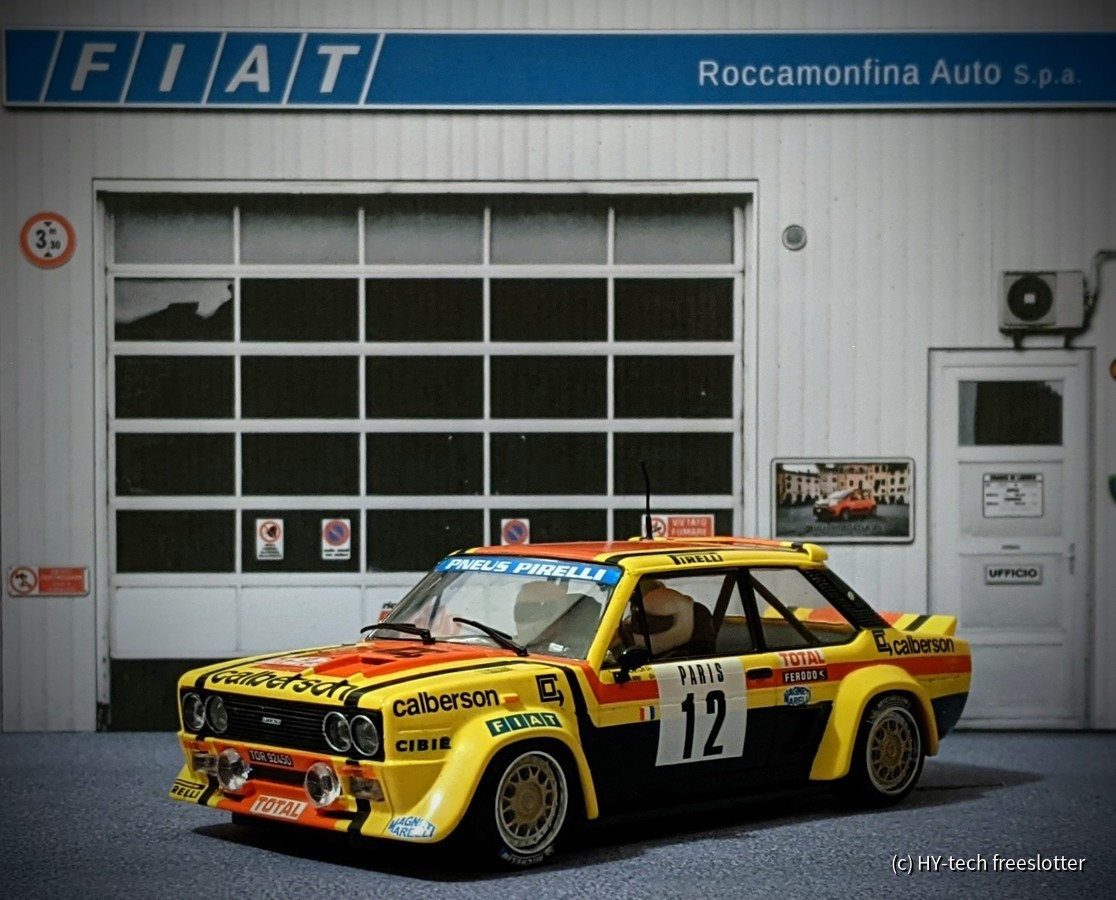 SCX Fiat 131 Abarth 'Mouton' #12 (Tuning-Chassis)