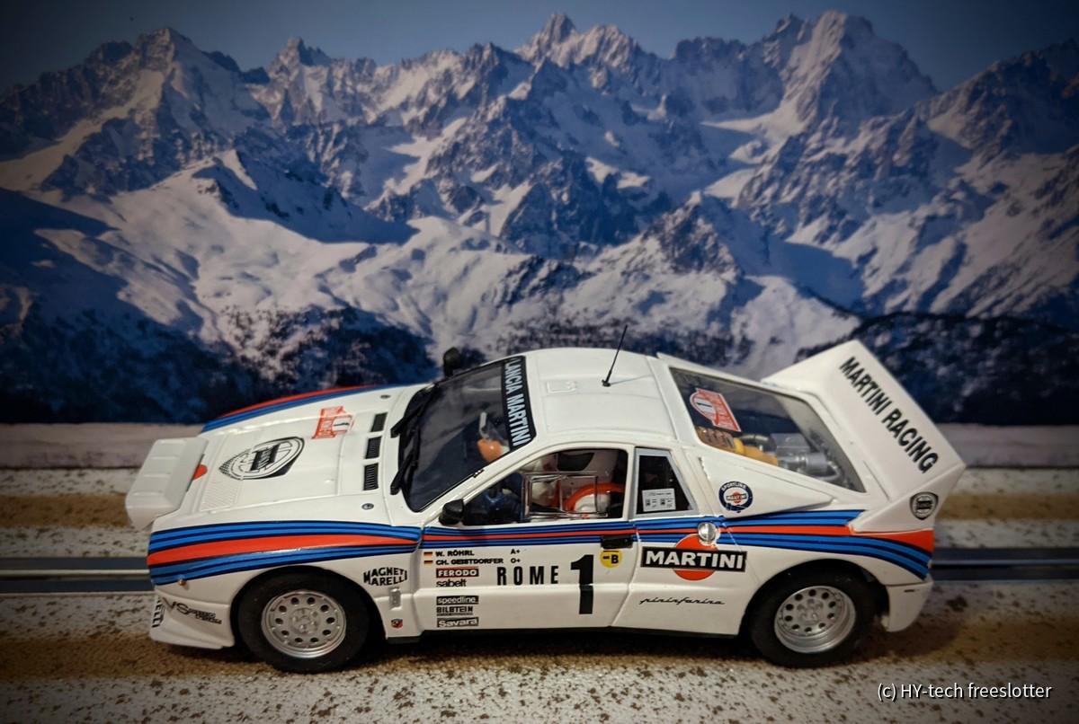 Fly Lancia 037 'Martini'' #1 Röhrl/Geistdörfer
