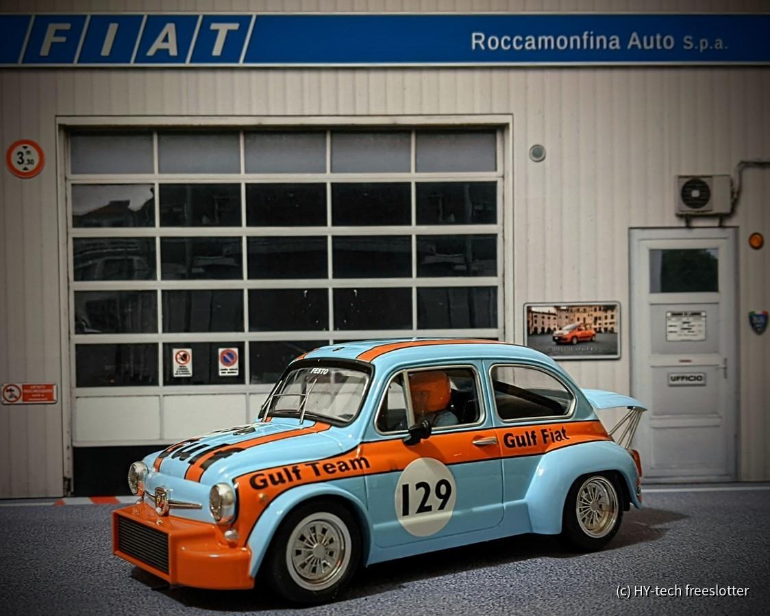TTS Fiat Abarth 1000TCR 'Gulf' #129