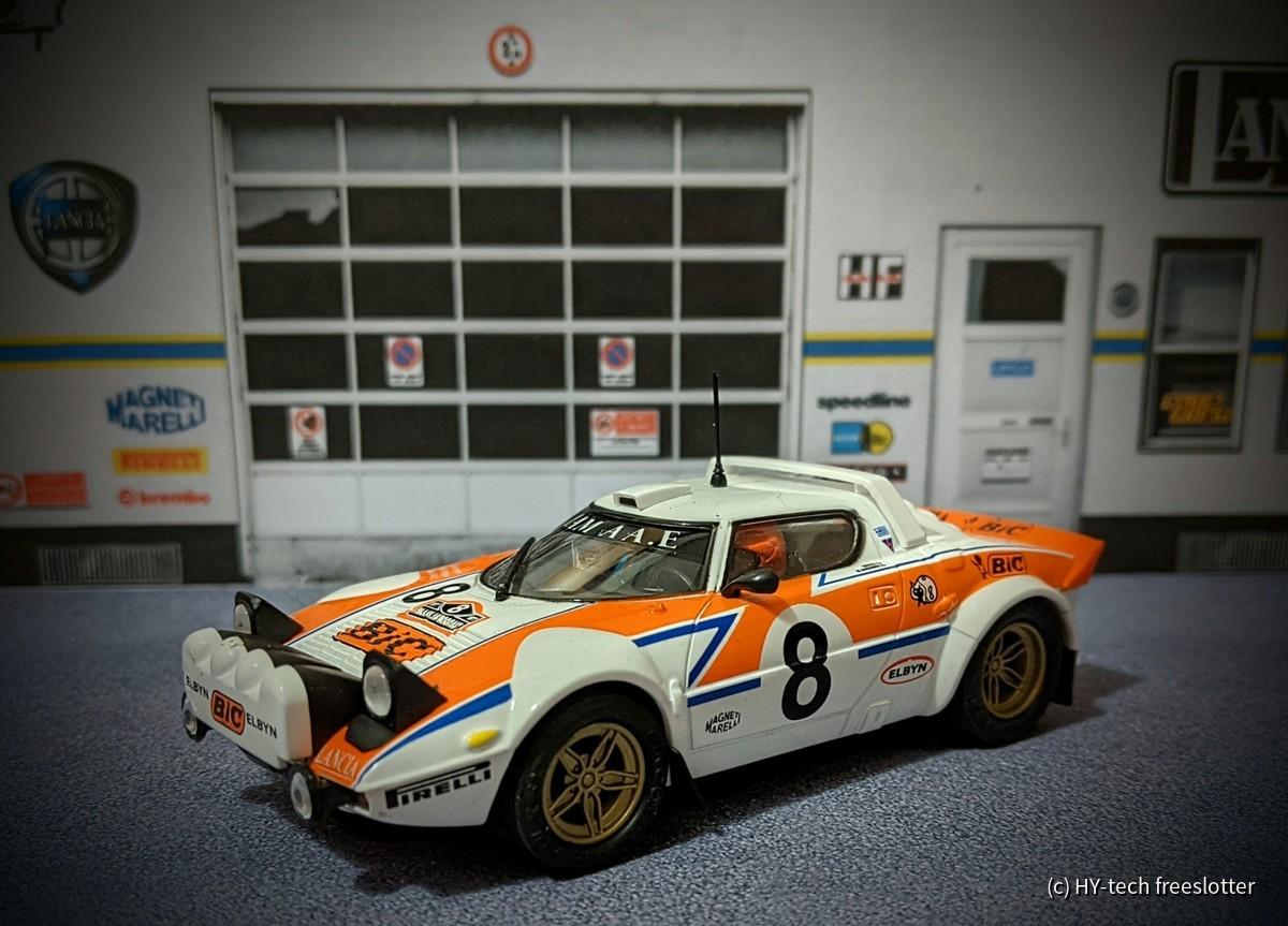 Ninco Lancia Stratos 'BIC' #8