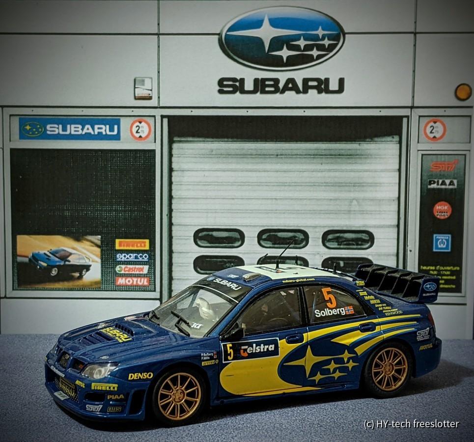 SCX Subaru Impreza WRC '05