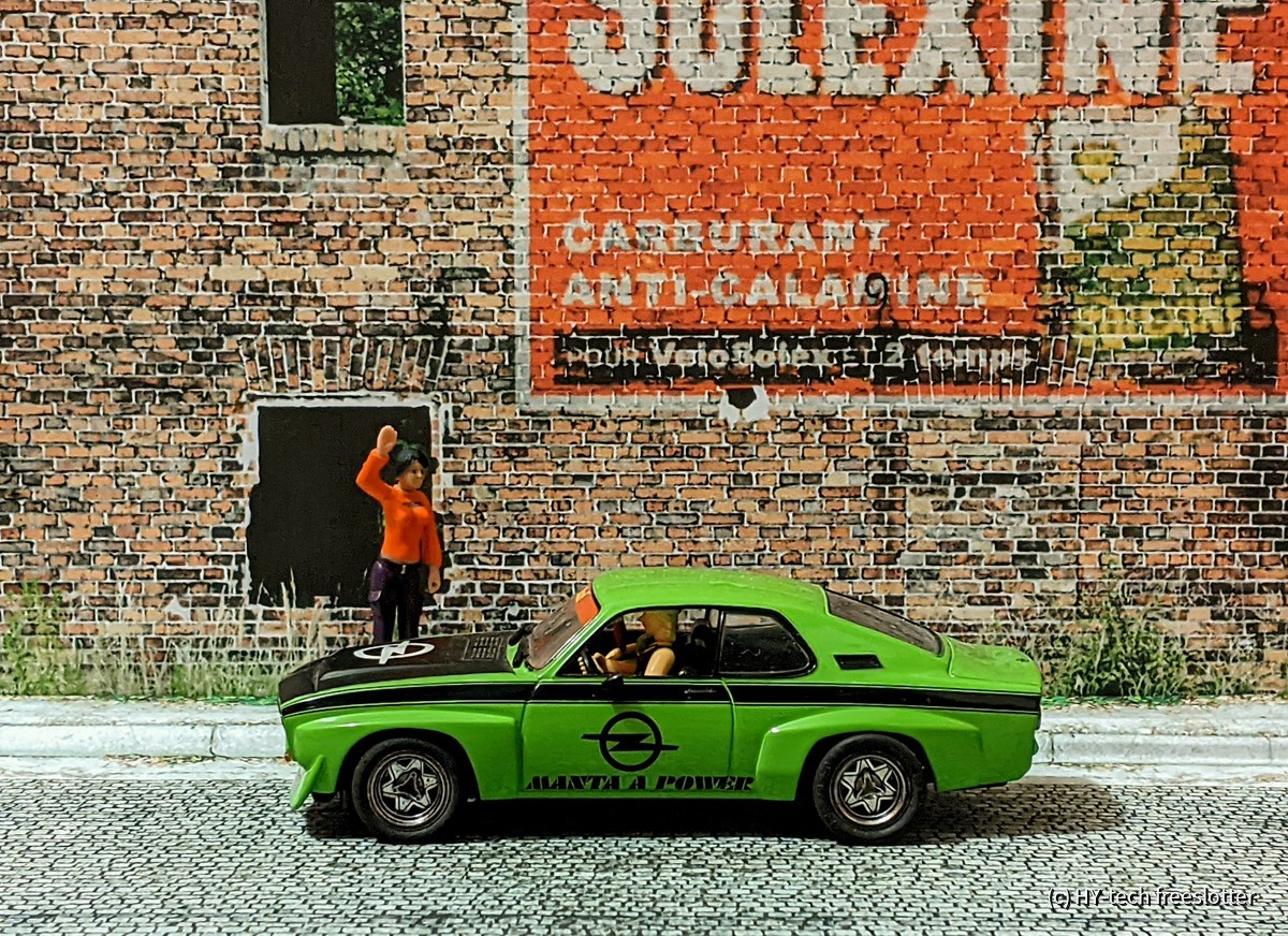 Carrera/Scalextric/SCX Opel Manta A