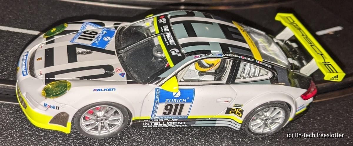 Carrera Evo Porsche 911 RSR 'Manthey' #911