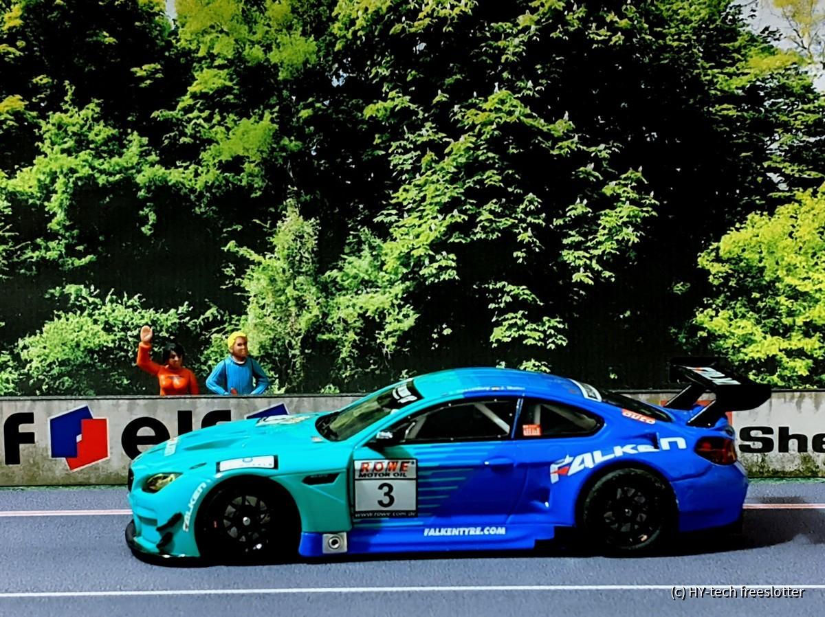 Carrera D132 BMW M6 GT3 'Falken'  #3