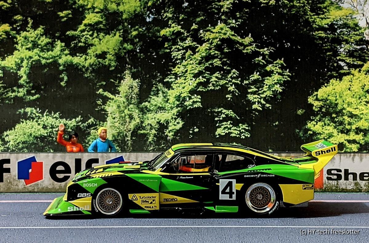 Carrera D132 Ford Capri Zakspeed #4