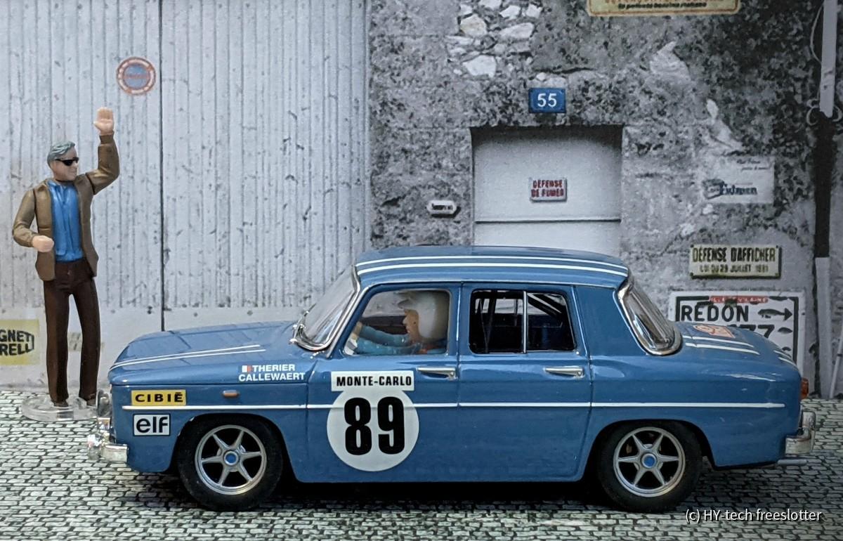 SCX Renault R8 Gordini 'Montecarlo' #89
