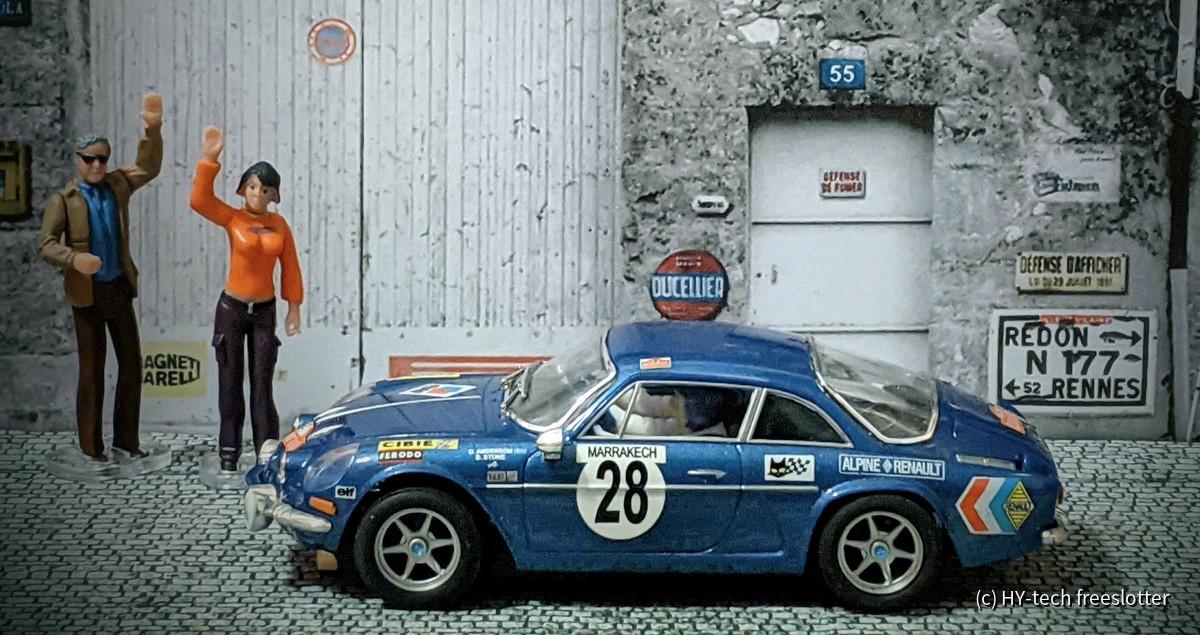 SCX Renault Alpine A110 'Montecarlo #28