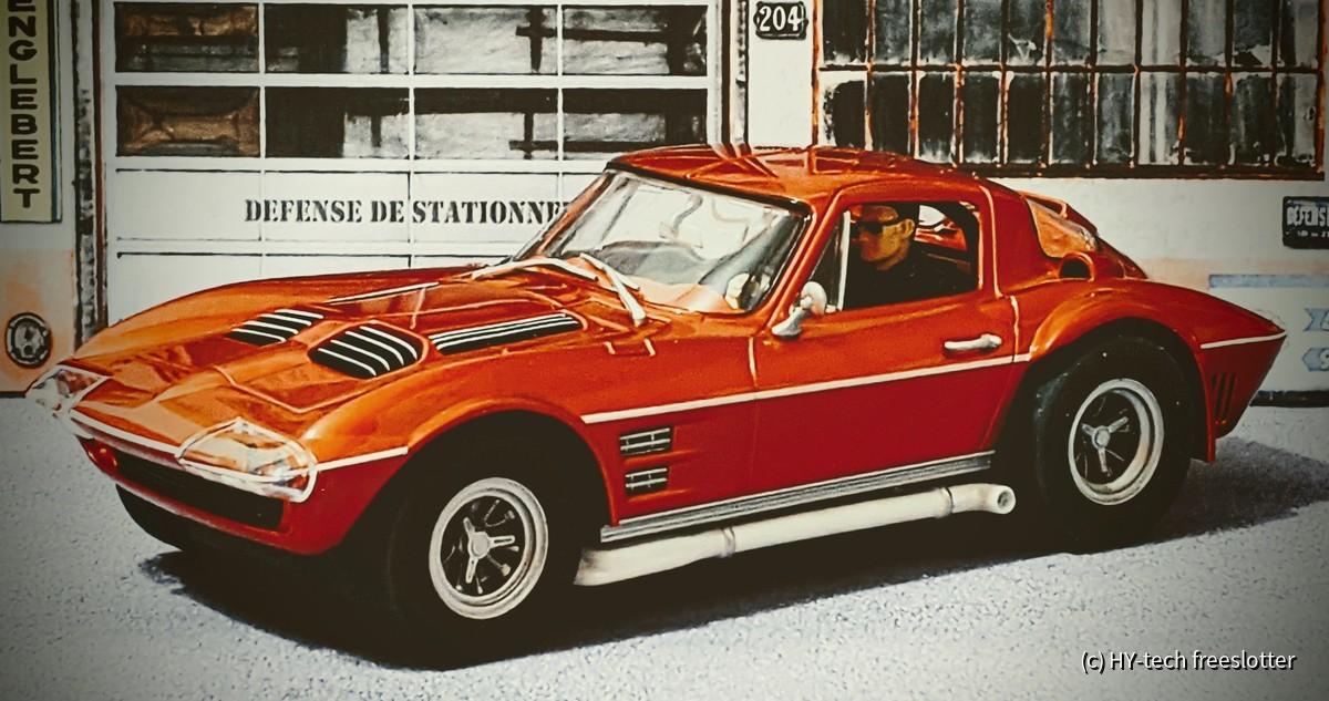D124 Carrera Corvette Gran Sport