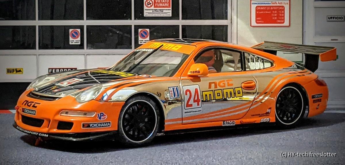Scaleauto Porsche 911 GT3 Cup #24