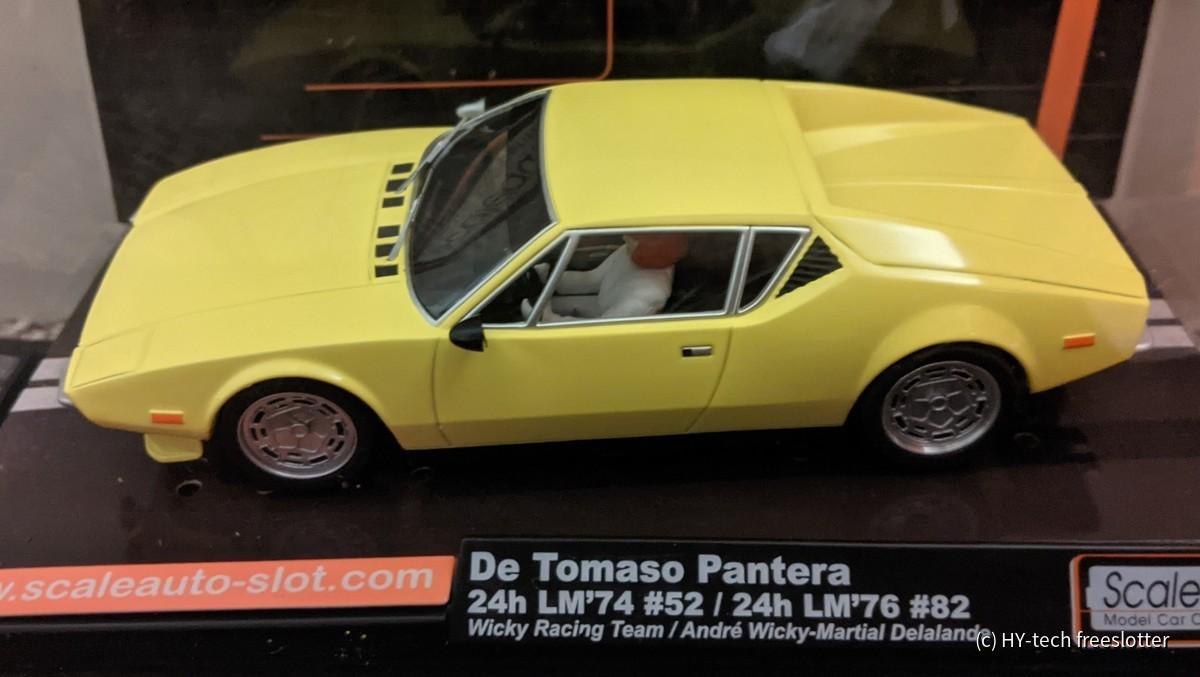 Scaleauto DeTomaso Pantera (zivil)
