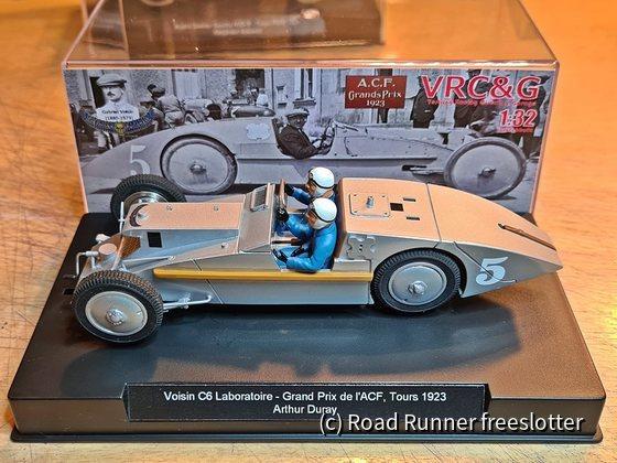 VRC&G, Voisin C6 Course Laboratoire, Grand Prix de l'ACF, Tours 1923, Arthur Duray