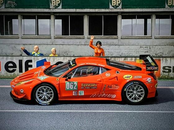 Carrera Evo Ferrari 458 GT3 #62