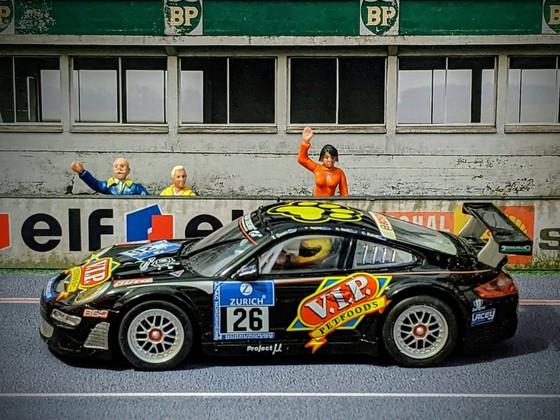 Carrera D132 Porsche 911 RSR 'V.I.P' #26
