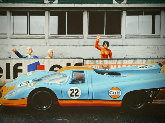 SCX Porsche 917 'Gulf' #22