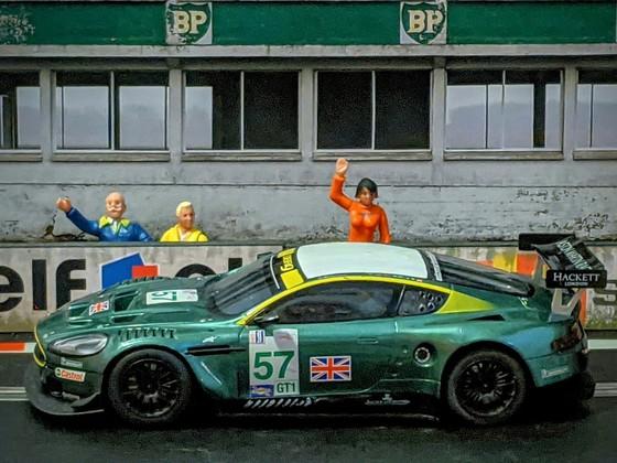 Scalextric Aston Martin DB9 GT #57