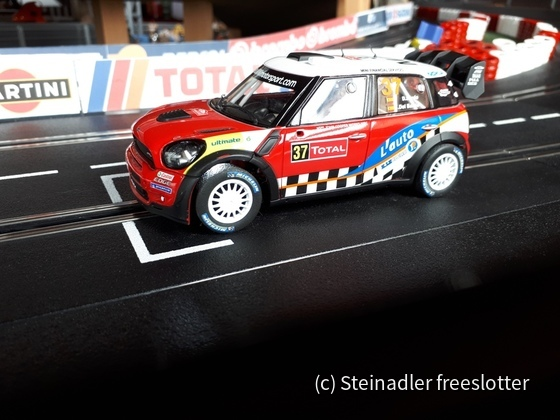 Carrera 30614 - Mini Countryman WRC - Daniel Sordo, No. 37, RMC 2012