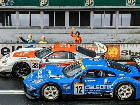 Scalextric JGTC Supra vs. 350Z