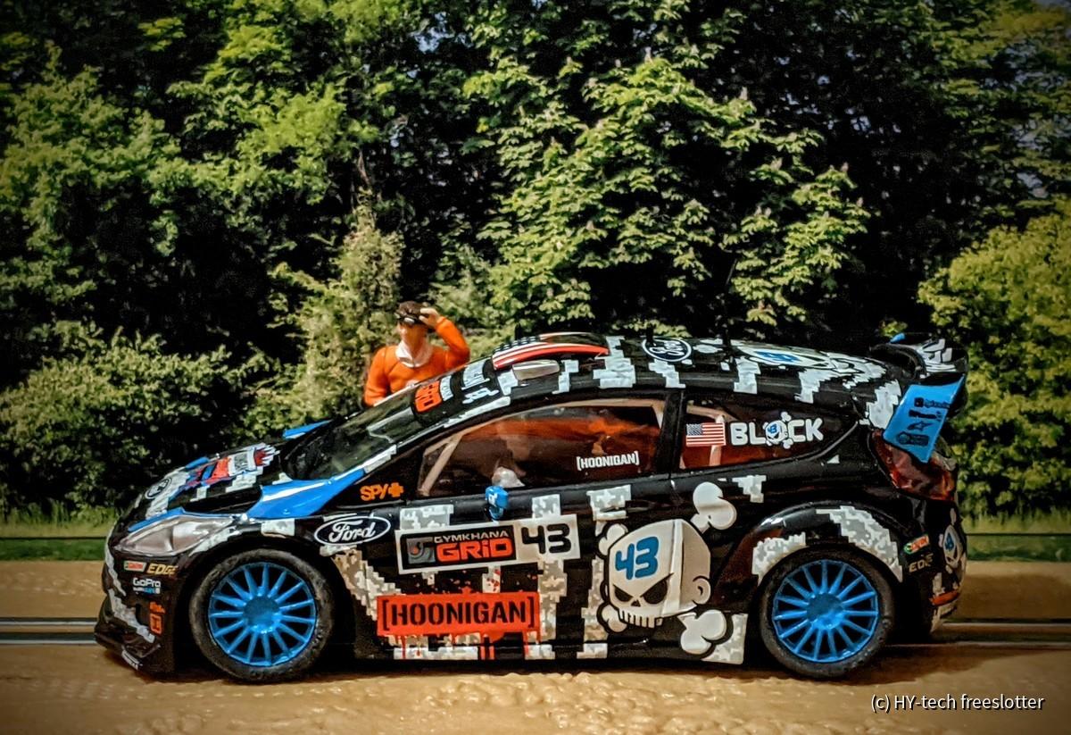 SCX Ford Fiesta WRC 'Ken Block' #43