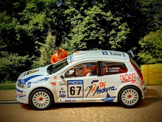 Ninco Fiat Punto Rallye #67