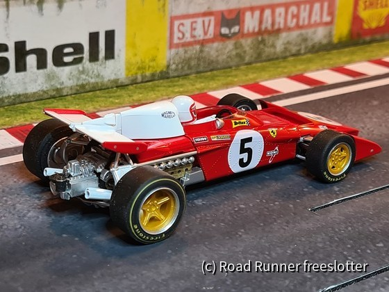 F1 '71, Policar Ferrari 312B2, Silverstone, Clay Regazzoni