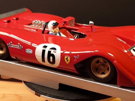 Ferrari 612p , 1/24 , Resin,  Schöler Intruder Chassis