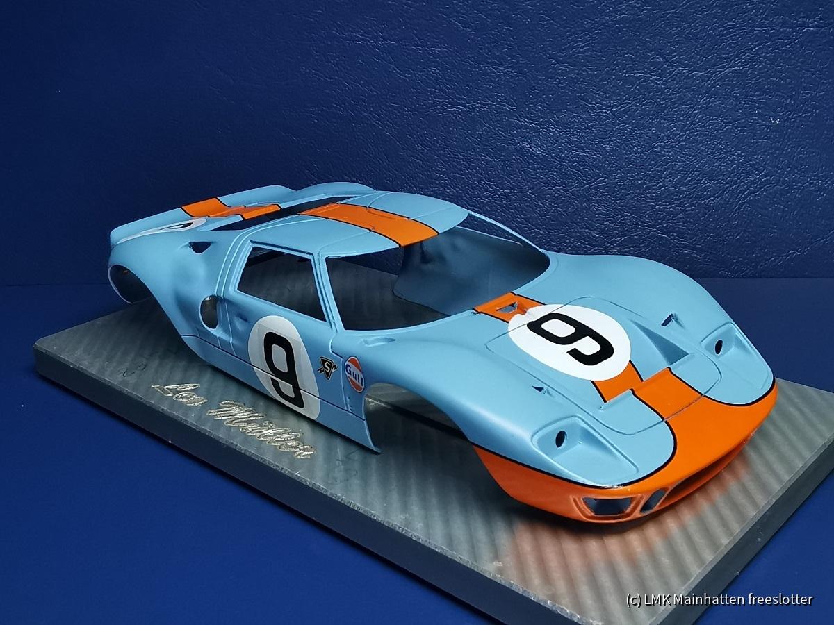 LMK Ford GT40 LeMans 1968 in progress
