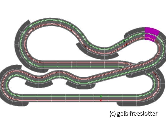 4,22m x 2,16m - 16,35m - fertige Bahn 2021