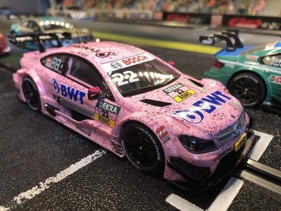 Lukas mit BWT_Liebling aller Fahrerinnen