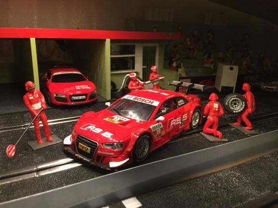 Boxengasse_Audi RS5_DTM