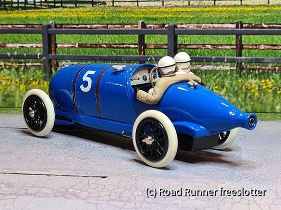 VRC&G, Bugatti Type 29/30, Grand Prix de l'ACF, Strasbourg 1922, Ernest Jules Friderich