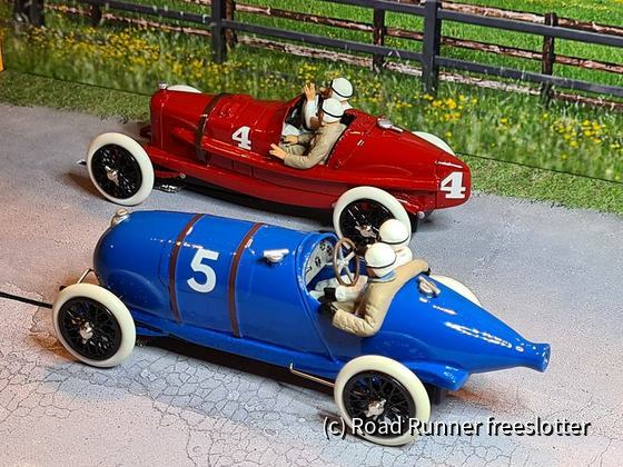 VRC&G, Fiat 804 Corsa vs. Bugatti Type 29/30, Grand Prix de l'ACF, Strasbourg 1922