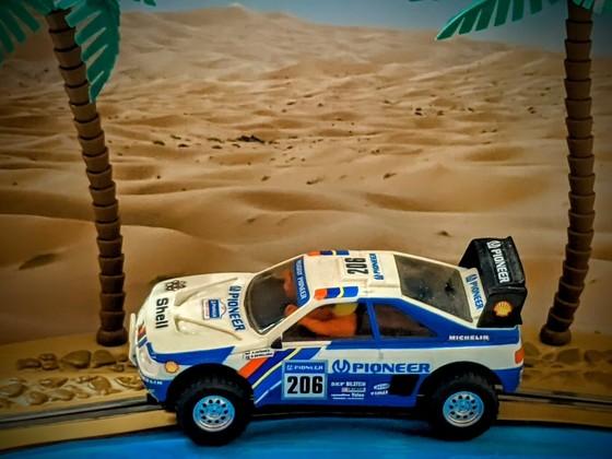 SCX (Exin) Peugeot 405 Paris-Dakar 1/32