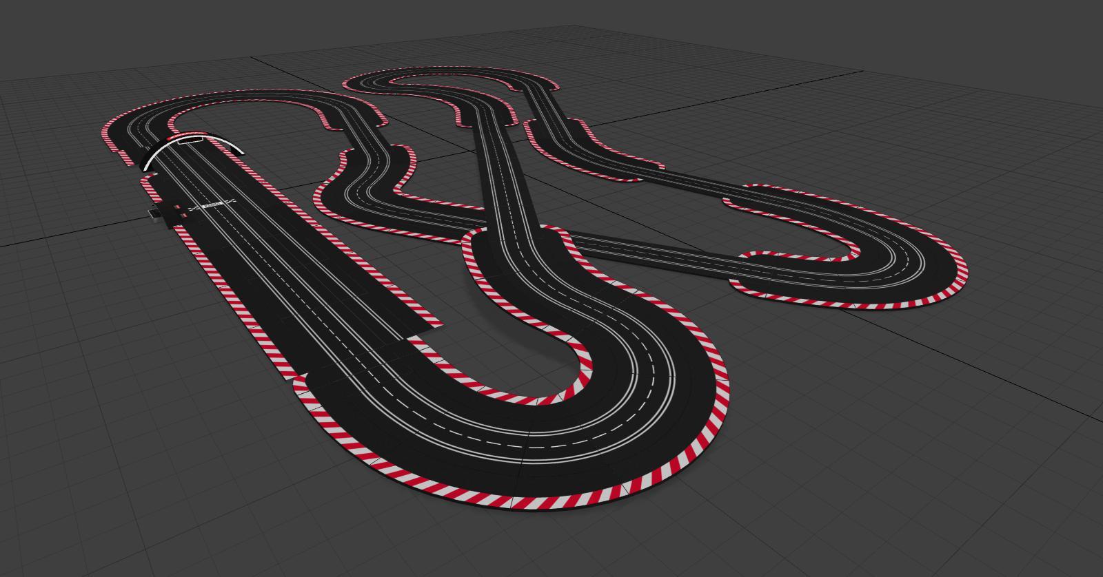 Carrera Digital 132 Strecken