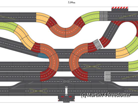 Sinnvoller Einsatz von K1 Kurven_ oder ein Kreisverkehr_Layoutversuche